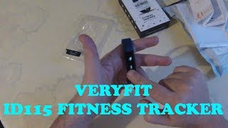 VERYFIT ID115 FITNESS-SLEEP TRACKER REVIEW