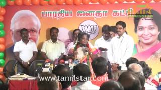 Tamilisai Soundararajan Campaign For BJP Candidates In Virugambakkam