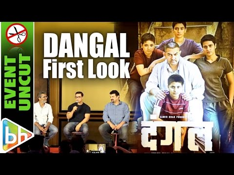 Aamir Khan Unveils First Look Poster Of Dangal | Event uncut
