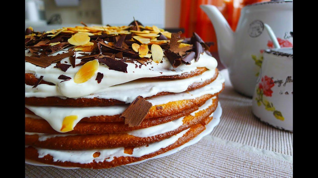 Рецепт торта несквик пошагово
