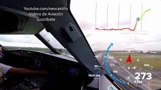¿A que velocidad despega un avión? Airbus A320