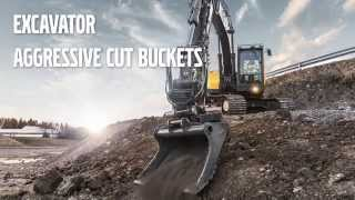 Volvo Aggressive Cut Buckets promotional video