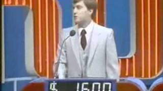 Jeopardy! 1st episode 1984 (Part 2)