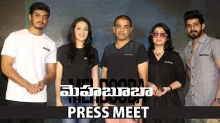 Mehbooba Press Meet | #PuriJagannadh, Akash Puri, Neha Shetty, Charmy Kaur, Dil Raju.