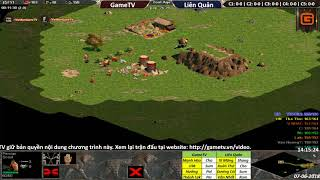 AoE 44 Random GameTV vs Liên Quân ngày 6-7-2018