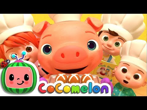 Hot Cross Buns | Cocomelon (ABCkidTV) Nursery Rhymes & Kids Songs