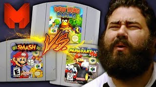 The BEST N64 Games? Super Smash Bros vs Mario Kart 64 vs Diddy Kong Racing - Madness