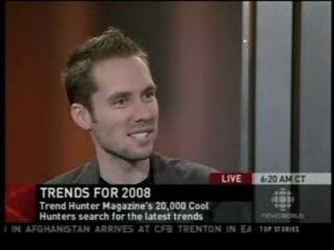 Jeremy Gutsche (TrendHunter.com) on CBC News