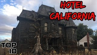 Top 10 Scariest Haunted Houses In California