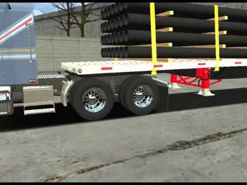 18 Wheels Of Steel Haulin - Freightliner FLD 120 Modular Review