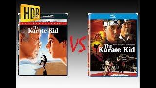 ▶ Comparison of The Karate Kid 4K HDR10 (4K DI) vs Regular Blu-Ray Edition