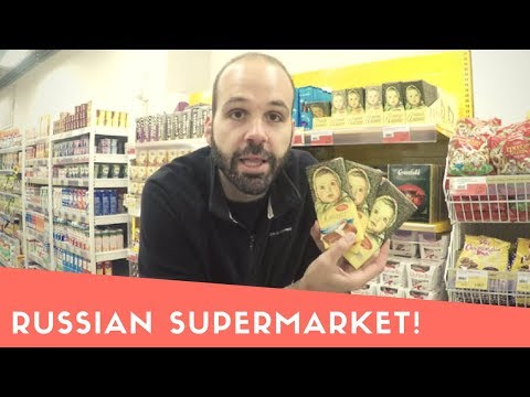Shopping in a Russian Supermarket!