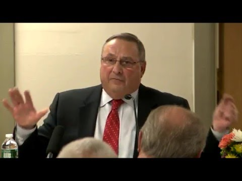 "GOP Gov. Paul LePage is Sad ""Dealers"" are Impregating White Girls"