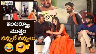 Chalo Movie Team Funny Interview | Sankranthi Special | Naga Shaurya, Rashmika Mandanna - Filmyfocus
