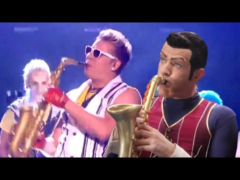 We Are Number One but it's co-performed by Epic Sax Guy