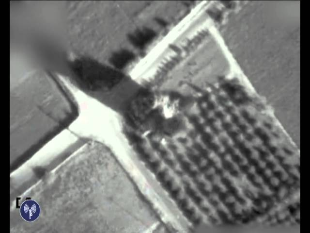 IAF attacks Hamas terror building w/weapons store, tunnel shaft