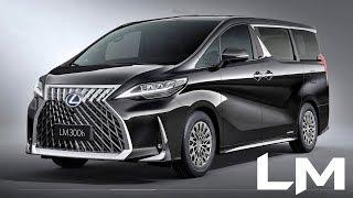 2020 Lexus LM Luxury Minivan - interior Exterior and Drive