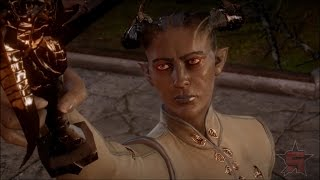 Dragon Age Inquisition: Rallying the Troops (Female Qunari Mage)