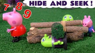 Funny Funlings play hide and seek with Peppa Pig and George - Detective Funling Mission TT4U
