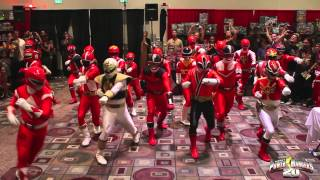 Power Rangers MEGA Flash Mob at Power Morphicon!