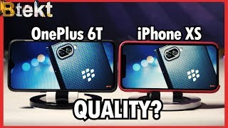 Quality Screen? | Oneplus 6T vs iPhone XS Display Comparison