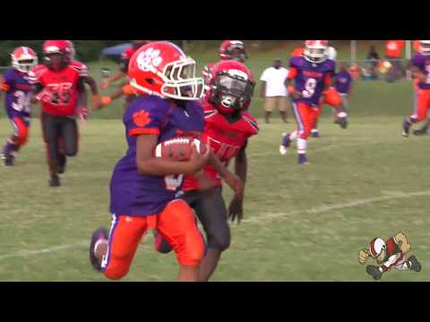 9u North Henry Tigers S (GA)  vs Cascade Falcons (GA) YFA Youth Football Highlights