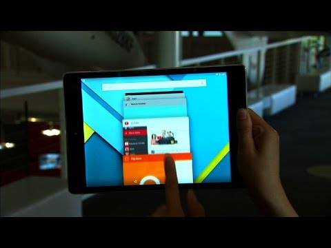 Take A Closer Look At The Sleek Google Nexus 9 Tablet video