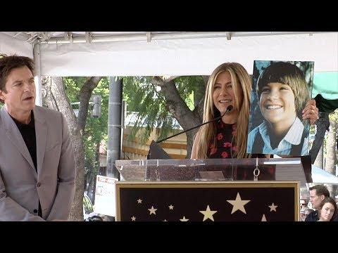 Jennifer Aniston Speech at Jason Bateman's Hollywood Star Ceremony