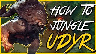 How to Udyr jungle Guide | Season 8 Patch 8.6 | League of Legends