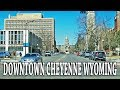 DRIVING DOWNTOWN CHEYENNE WYOMING USA mp3