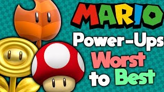 Ranking Every Mario Power-Up