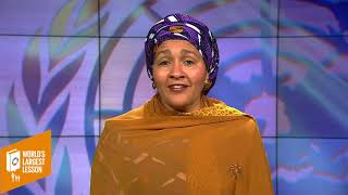 A Message to All Educators from Amina J Mohammed, Deputy Secretary General of the United Nations