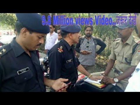 रूड़की मिलिट्री चौक पर आर्मी के लोगों और पुलिस के बीच हुई तीखी नोकझोंक,क्या है मामला,देखें वीडियो..