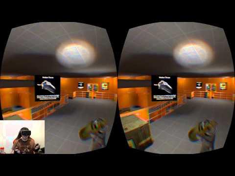 Half Life 2 VR Training (AMAZING!) - Goldfish rifts