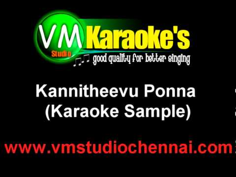 Kannitheevu Ponna Karaoke video