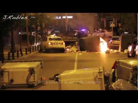 14N Huelga General. Disturbios en Madrid