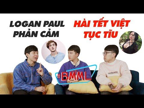 BA MẶT MỘT LỜI | Tết 2018 đại loạn YouTube: Hài tết Việt tục tĩu - Logan Paul phản cảm | schannel