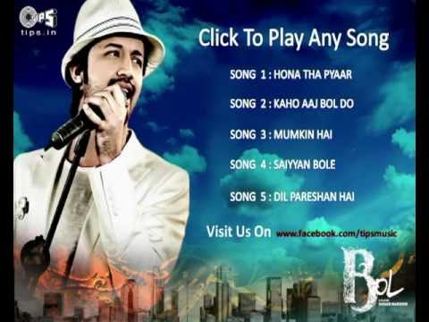 Movie Bol Video Jukebox - Non Stop - Atif Aslam video