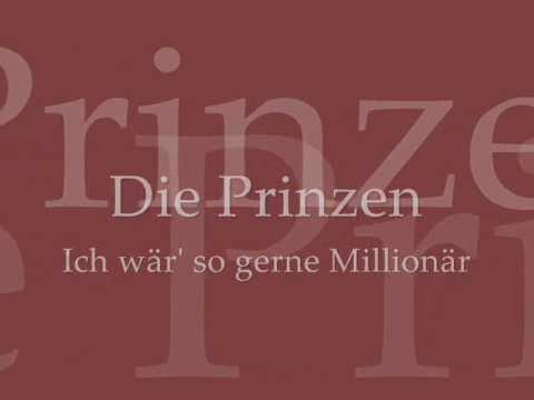 ich wär so gerne millionär