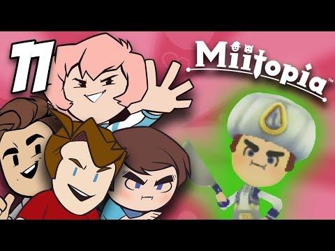 Miitopia: Too Many Ads! - PART 11 - Grumpcade (ft. Jimmy Whetzel, Commander Holly, & Matt)