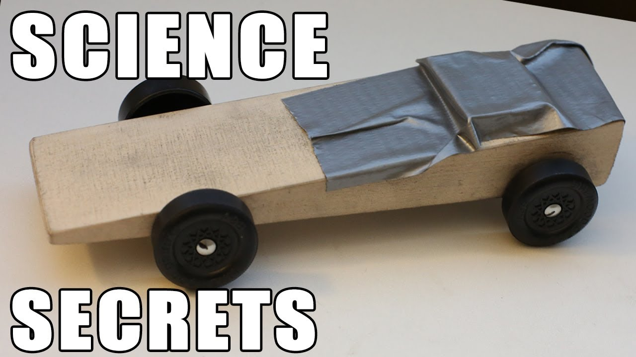 Easy Pinewood Derby Car Wins Using Science Youtube