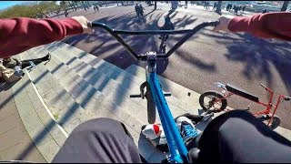 GoPro BMX Bike Riding in Barcelona, Spain