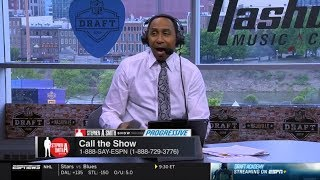 Stephen A. Smith Show 4/25/2019 Warriors loss to Clippers, 2019 NFL Draft