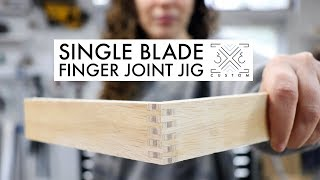 How to Make Finger Joints on the Table Saw // Box Joint // Joinery // Woodworking How To