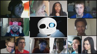 """Sans Battle - Stronger Than You"" By alfa995 Reaction Mashup"