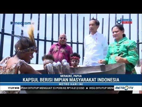 Monumen Kapsul Waktu Di Merauke Simpan Impian Anak Indonesia
