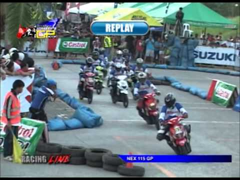 2013 Regional Underbone Grand Prix - Tagum GP - NEX115 (The Racing Line TV)
