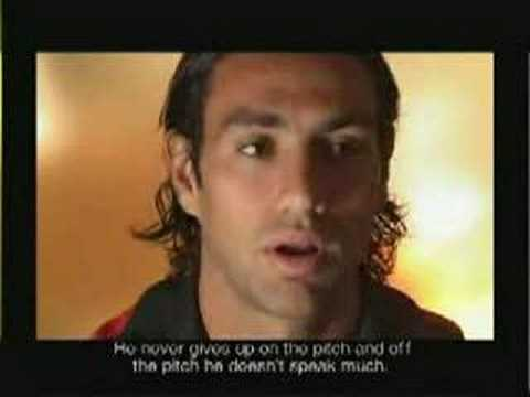 Nesta talking about Maldini Video