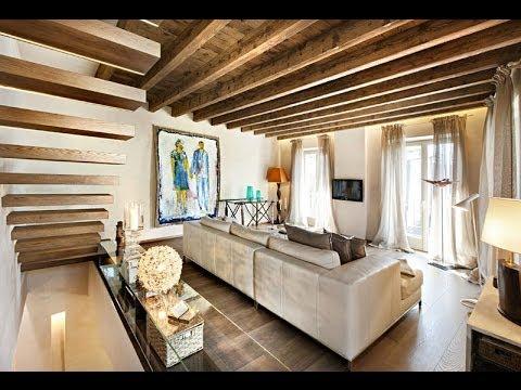 Decoraci n de interiores r stico con modernos elementos for Decoracion de viviendas rusticas
