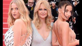 Julia Wieniawa i Jessica Mercedes na czerwonym dywanie - Cannes 2018